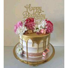 Creative birthday cake ideas for girls – Artofit Pretty Cakes, Cute Cakes, Beautiful Cakes, Amazing Cakes, 25th Birthday Cakes, Birthday Cakes For Women, Birthday Cake For Women Elegant, 80th Birthday, Birthday Cake Decorating