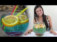 How to make The Fish Bowl - Tipsy Bartender - YouTube