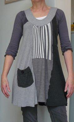 Mode: Tuniek - Jurk 1: lange mouw