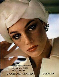 Guerlain (Cosmetics) 1974 Photo Tony Kent Vintage advert Cosmetics | Hprints.com