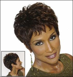 black short haircuts styles for African American women
