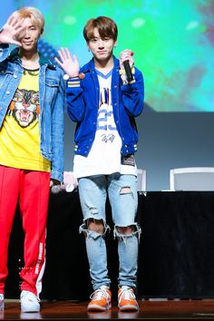 Jungkookie and rap Mon (bts fansign)