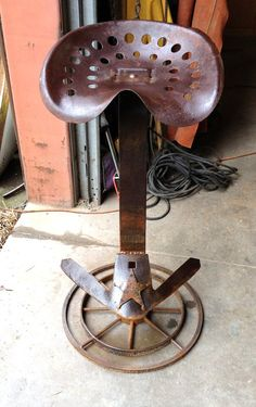 Rustic western cowboy counter height by SouthernFriedMetal on Etsy, $225.00