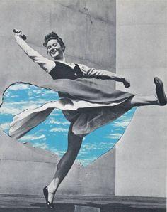 "Saatchi Art Artist Deborah Stevenson; Collage, ""Happy Dance"" #art"