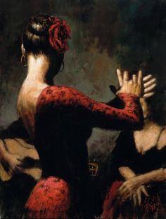 Fabian Perez Source image : http://club.doctissimo.fr/volver4/fabian-flamenco-peinture