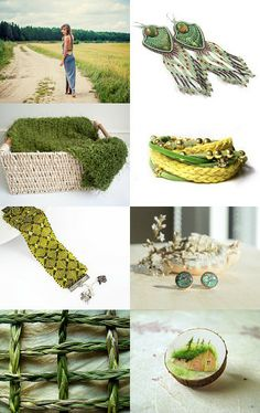 As Green and Fresh As Spring by Marcelina Rozmus on Etsy--Pinned with TreasuryPin.com