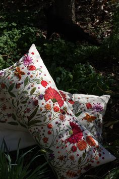 Hand Embroidered Pillowcase... too lovely!!!