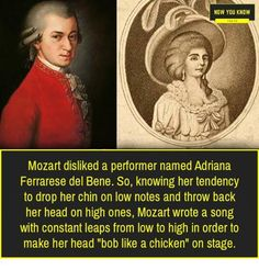 Mozart was a Mad Lad himself Stupid Funny Memes, Funny Relatable Memes, Funny Posts, Funny Stuff, Funny Cute, Really Funny, Hilarious, Musician Jokes, Hilarious Pictures
