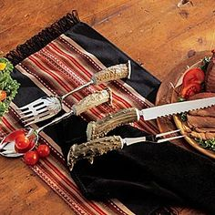 Antler Carving and Serving Tools from King Ranch