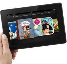 kindle Fire tablette enfants