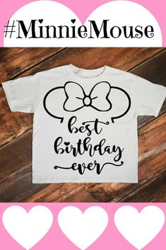Minnie birthday, Minnie mouse svg, Mickey mouse, Birthday svg, Girl birthday svg, Birthday shirt, Minnie shirt, Disney svg, Disney shirt #ad