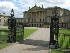 Kedleston Hall, Derbyshire--Owned by the Curzon family.Must visit when in England. Raj Bhavan in India is inspired from the design of this building..