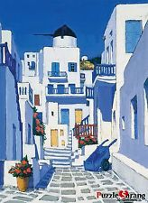 Bien JIGSAW Paper Puzzle 500pcs Mykonos Alley Mill Hobby Decor Assembly Gift
