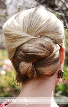 The How-To Crew: 15 How-To Formal Wedding Updo Hair Tutorials