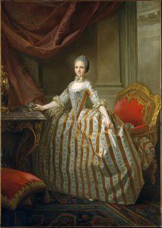 Maria Luisa de Parma, Laurent Pécheux, 1765