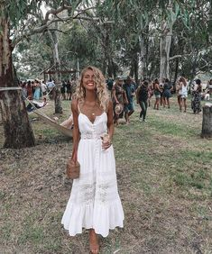 Boho beauty @elisecook looking like a dream in our Summer In Monte Carlo Maxi Dress Shop now via the link in our bio #hellomolly