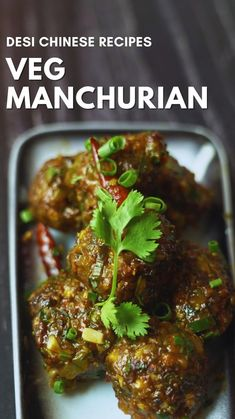 Tasty Vegetarian Recipes, Veg Recipes, Spicy Recipes, Cooking Recipes, Tastemade Recipes, Chaat Recipe, Indian Dessert Recipes, Veg Manchurian Recipe, Easy Cooking
