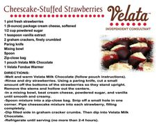 Enjoy.  Check out my website for the Premium Belgian Chocolate use in this recipe.