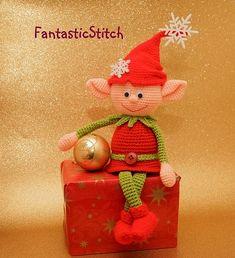 Ravelry: Elf Christmas pattern by Anastasia Eisenberg