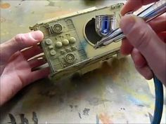 ▶ How to paint and weather a tank model/Tumpeter 1/35 E-50 - YouTube
