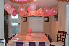 Pinkalicious themed party tablescape