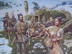 Hunter gatherer Ages Of Man, Prehistoric Man, Early Humans, Primitive Survival, Sword And Sorcery, Stone Age, Medieval, Historical Pictures, Ancient Civilizations