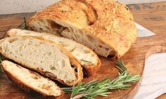 In this episode of Laura in the Kitchen Laura Vitale shows you how to make Asiago and Roasted Garlic Rustic Bread! Chicken Bacon Pasta, Roasted Chicken And Potatoes, Roasted Garlic Bread Recipe, Chocoflan Recipe, Small Baking Dish, Rustic Bread, Complete Recipe, Bread Recipes, Food Print
