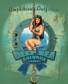 AO Scuba Dive T-shirts - Perfect scuba gift for divers. Scuba Diving Quotes, Diving Logo, Scuba Diving Equipment, Estilo Pin Up, Scuba Girl, Alien Art, Sea Art, Painted Books, Lost Art