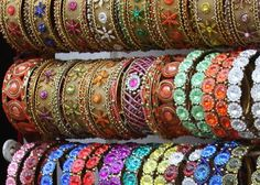 Magical bangles in Bangalore India