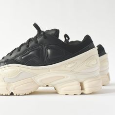 huge selection of b83e9 a968d adidas by Raf Simons Ozweego - Black   Chalk - 7.5
