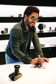 WETZLAR, GERMANY - JUNE 23: Lenny Kravitz attends the vernissage 'Flash by Lenny Kravitz' on June 23, 2015 in Wetzlar, Germany. (Photo by Franziska Krug/Getty Images for Leica)