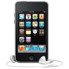 Ipod touch - Must have for walking, relaxing etc.  Love it.