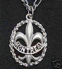 Montreal Quebec Sterling silver 925 Fleur de lis charm Sterling Silver 925 Jewelry