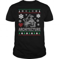 Awesome Tee Ugly Architecture Christmas Design T shirts