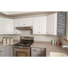 Best Added Crown Molding And Painted Cabinets Winter Fog With 400 x 300