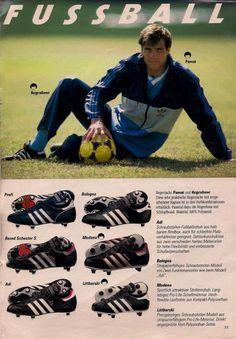 Adidas 1985 Catalogue Page