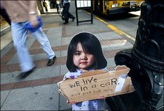 photos of homeless people   Child Poverty in America and Canada: A Leadership Call to President ...