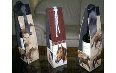 Decoupage, Sd, Wraps, Gift Wrapping, Bottle, Gifts, Vintage, Home Decor, Wood Paintings