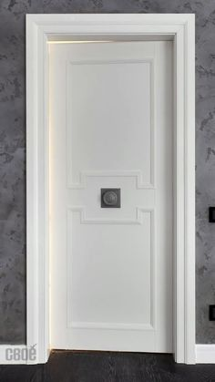 Cafe Shop Design, Classic House Design, Wall Molding, Grill Design, White Doors, Internal Doors, Floor Design, Wooden Doors, Joinery