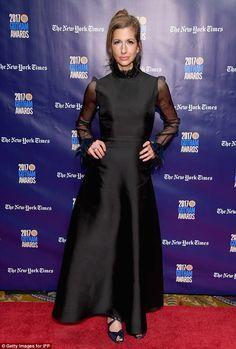 Stunner:Orange Is The New Black's Alysia Reiner slayed in a gorgeous black dress