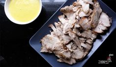 Jamón asado con salsa de mostaza y curry - Yaestamosencasita.com