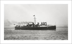 Royal Navy Torpedo Boat Destroyer HMS Sunfish, near Devonport, England.  Steve Given collection