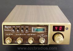 Browning LTD (or Baron?) 40-channel AM/SSB CB Radio