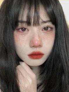 Asian Makeup Looks, Asian Eye Makeup, Korean Makeup, Cute Makeup, Pretty Makeup, Hair Makeup, Aesthetic People, Aesthetic Girl, Makeup Inspo