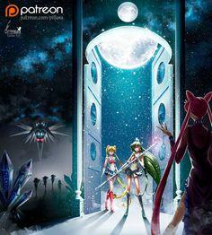 The battle for earth_Sailor Moon by Pillara.deviantart.com on @DeviantArt