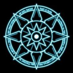 DeviantArt: More Like Blue magic circles by MysticalTemptress