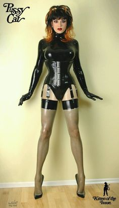 This Gurl is simple Gorgeous & his Fetish outfit is just Fabulous. I just love how well he's tucked, it may look uncomfortable but I can tell you ( from experience ) it's very comfortable when done properly. He'll be giving every guy out there a thrill, with the hopes of taking him home.....