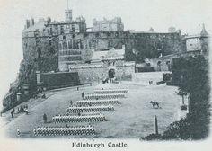 Old Town Edinburgh, Visit Edinburgh, Edinburgh Castle, Edinburgh Scotland, Old Pictures, Old Photos, Scotland History, Scottish Castles, Military Uniforms