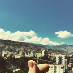 hello bolivia ~❤️ #아침 #너무높아 ㅋㅋ