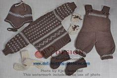 Hier können Sie einige einfache, robuste Sportkleidung für die Puppe stricken